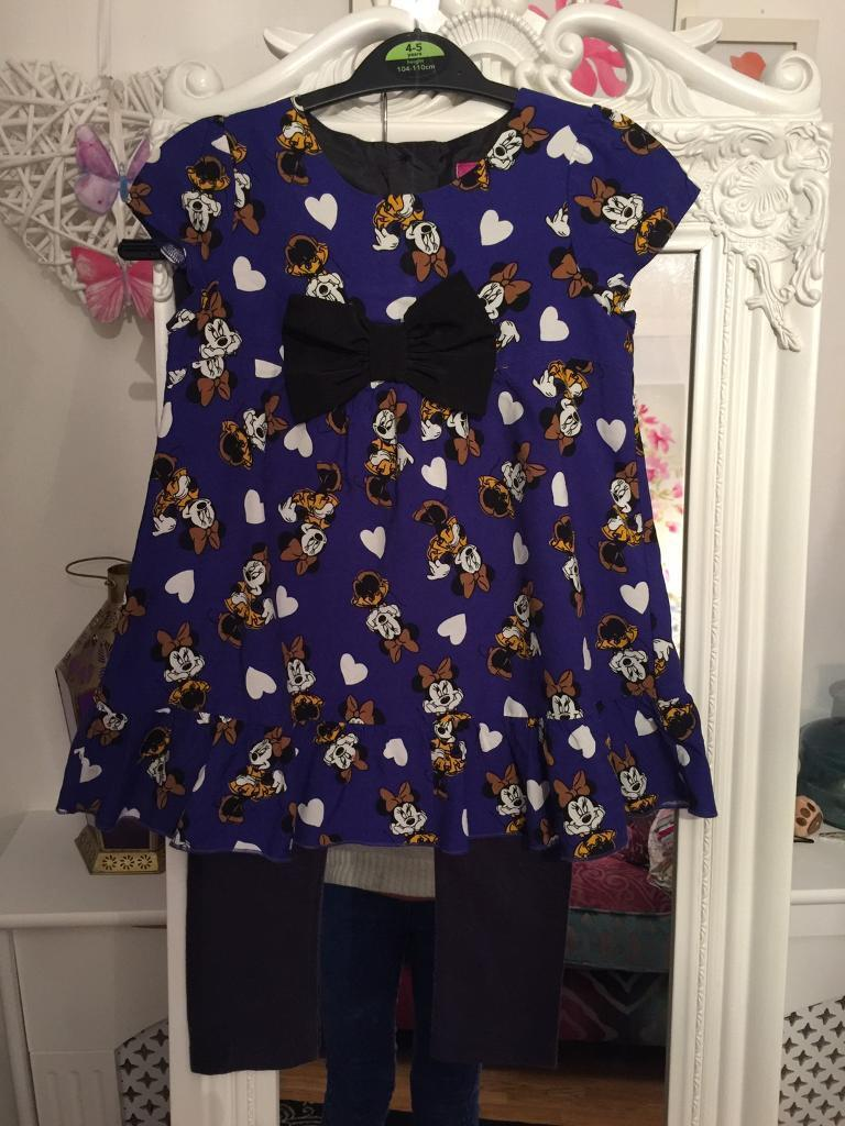 Cute girls mini mouse outfittop/leggings age 3 4 years fab conditionin Thornhill, CardiffGumtree - Lovely girls Minnie Mouse outfit . Cute top and leggings age 3 4 years hardly worn . I am having a clear out please take a look at my other girls items
