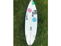 5'11 Nick Uricchio surfboard