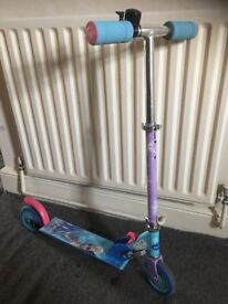 3 wheel scooter and in-line scooter £6-10 each