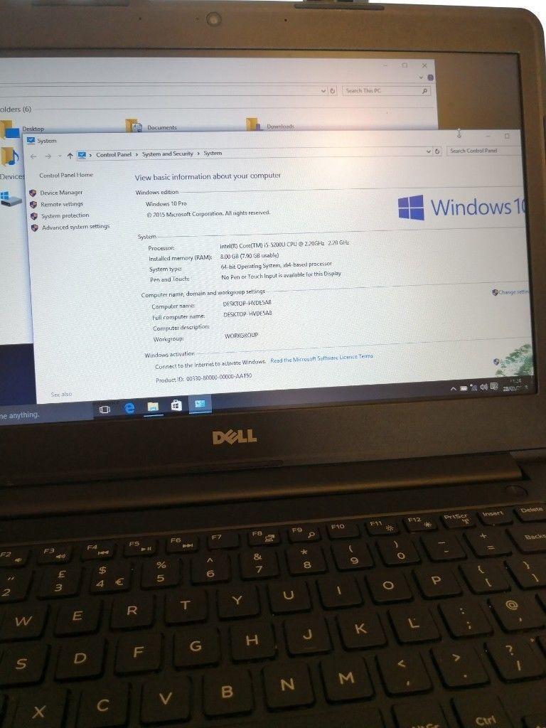Dell Latitude E5530 i5-3380M 2 90ghz 8gb 500gb Win10 Office