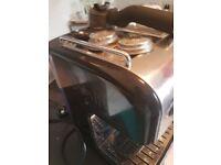 Dualit coffee machine espresso and cappucino