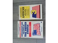 2x American Politics books UNIVERSITY/COLLEGE/SCHOOL