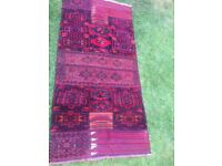 semi old shahsavan kilim made approximately 35-50 max yrs old.