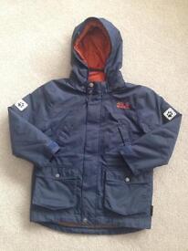 Boys Jack Wolfskin Jacket, Size 116
