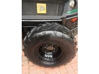New Sun F 25x10-12 tyres new rims included