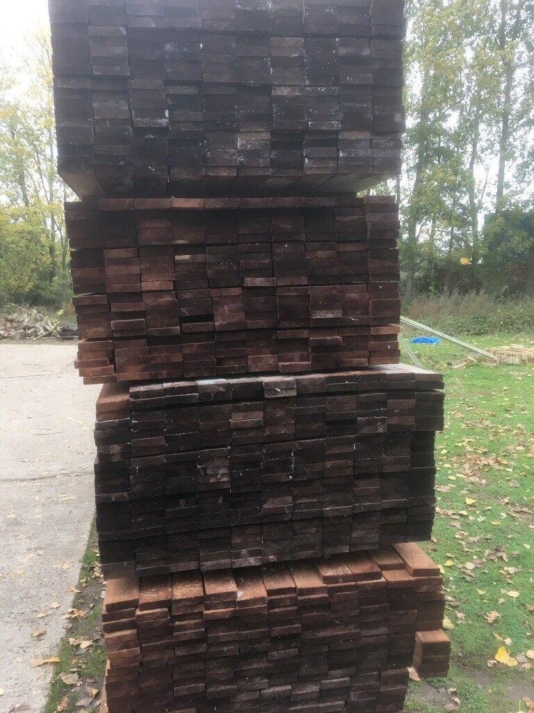Scandinavian Redwood Treated Timber 100x25