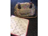 Blooming gorgeous yummy mummy changing bag
