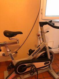 Spinning bike. Hardly used.