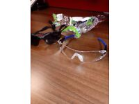 Safety Specs - Sport Style - 2x clear and 1x shaded