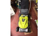 Petrol Lawn Mower 140cc Ryobi Spares or Repair Needs Pull Start