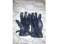 Motorcycle gloves - size large
