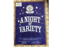 Variety show party game