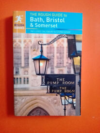 Brand new! The rough guide to Bath, Bristol and Somerset