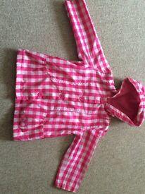 Girls raincoat 3-4 years
