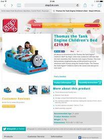 Step 2 Thomas tank engine bed