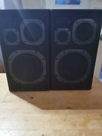 Jamo Studio 105 Speakers Pair Black Finish Fully Working 8 OHM 50-105w