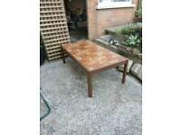 Coffee table retro large