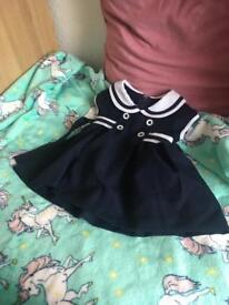 Bonnie Jean Nautical Dress