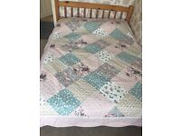 Quilted Bed throw