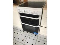 Indesit electric oven and ceramic hob