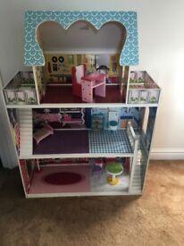 Girls Barbie Dolls House