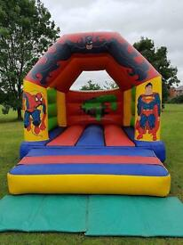 Commercial Bouncy Castle Marvel Superhero 12x15