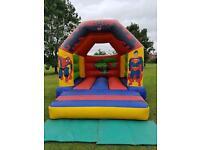 Commercial Bouncy Castle Marvel Superhero 12x15