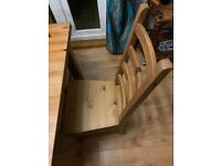 Solid Wood Dining Table + 8 Dining Chairs - Excellent Condition (Can Sell Separate)