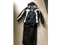 Unisex ski jacket and trousers
