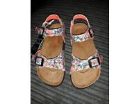 joules sandles. new with tags. size 12