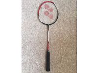 Yonex badminton racket (good condition) £20 ono (rrp £40)