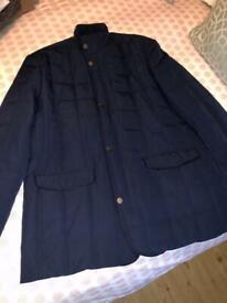 Men's Douglas navy coat (46)