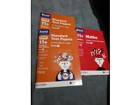 Like New Bond 11+ Multiple Choice Test papers ( 2 CEM mixed packs and 1 Maths pack)