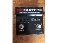 Radial Engineering Big Shot EFX True Bypass Effects Loop Switcher