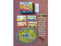 Bus Stop - nearly new condition. From Orchard games.
