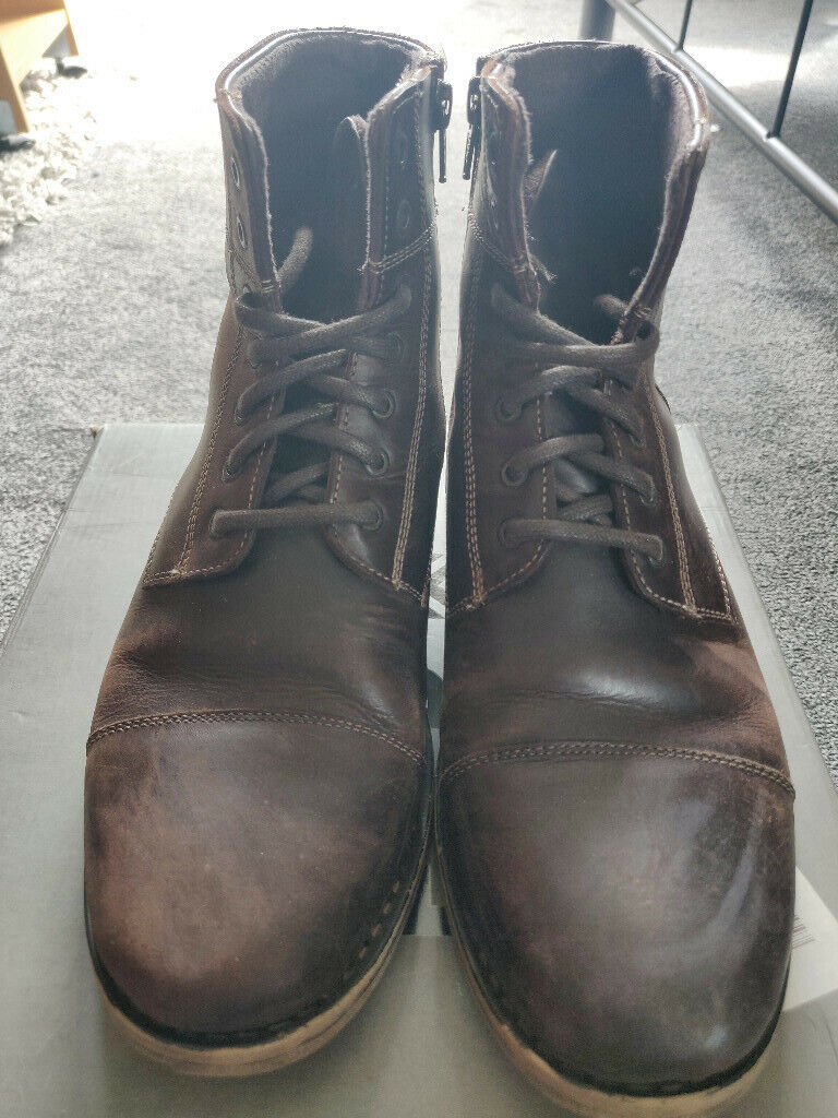 67927b762b4 Mens FFP boots by Debenhams UK Size 7 | in Bury, Manchester | Gumtree