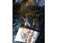 2 DC comics and starfighter workshop activity book