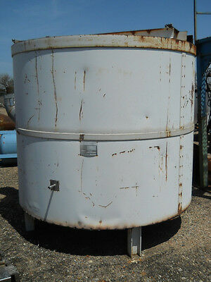 Pyradia 2300 Gal Ss Jacketed Tank 7 Dia X 7.5 Tall
