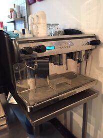 Used Expobar G10 Expresso Coffee Machine including grinder and water filter