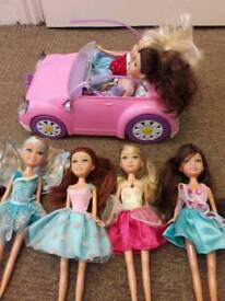 Sparkle dolls