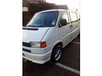 Vw T4 lwb damaged bargain starts and drives