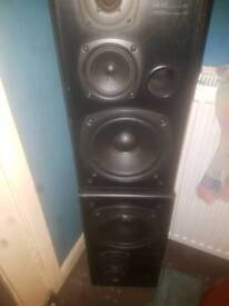 Kenwood speakers 110 watt