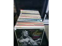 Vinyl job lot 120 opera lps..mint..