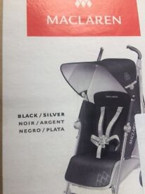Maclaren techno xt pushchair,brand new,black/silver colour,Oxford pick up only,£180