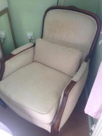 Beautiful shabby chic chair