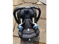 BRITAX BABY CAR SEAT PLUS ISOFIX BASE NEWBORN