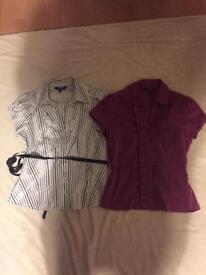 Size 12 petite blouse bundle