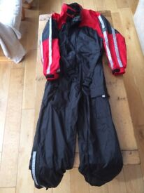 Ladies' Belstaff waterproof motor cycle suit, size small, in excellent condition