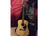 Guitar and bag
