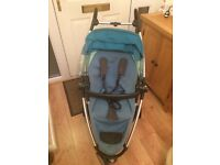 Quinny Zap pushchair in blue, excellent condition
